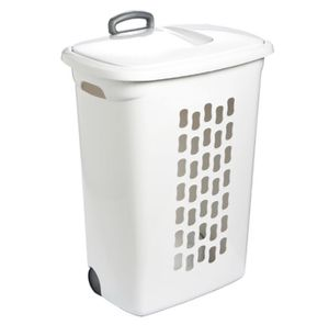 Sterilite Plastic Wheeled Hamper w/handle Storage container for Sale in Aventura, FL