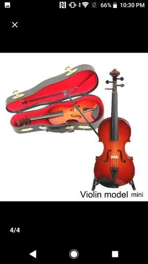 8cm violin model table ornament for Sale in Falls Church, VA