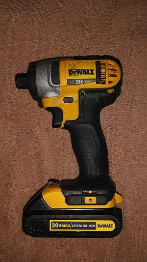 DeWalt Impact drill with small Battery for Sale in Doraville, GA