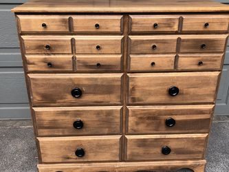 Pine Dresser with Black Knobs for Sale in Mercer Island,  WA