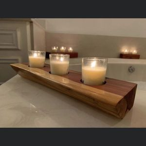 Cedar Candle Holders for Sale in Kemah, TX