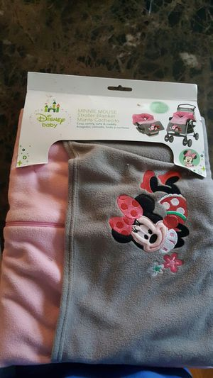 Disney stoller blanket for Sale in Heidelberg, MS