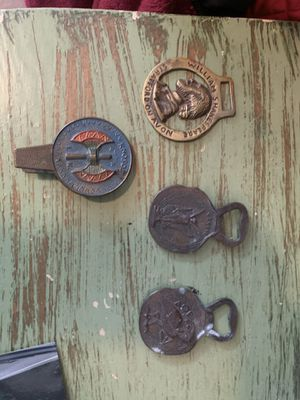 Antique bottle openers and clip for Sale in Portland, OR
