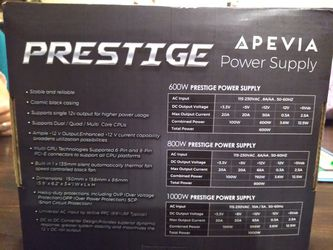 Prestige power supply APEVIA for Sale in DeBary,  FL