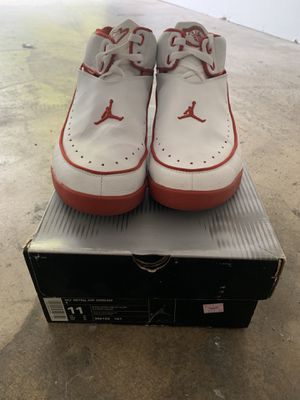 Used Nike Nu' Retro Air Jordan 2 Size 11 White/Varsity Red-Mt Silver 306152 161 for Sale in Diamond Bar, CA