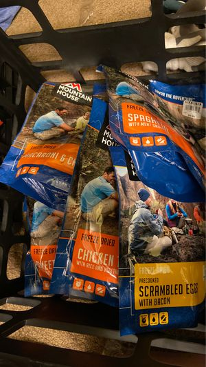 8 Mountain House Dry Food for Sale in Kenmore, WA