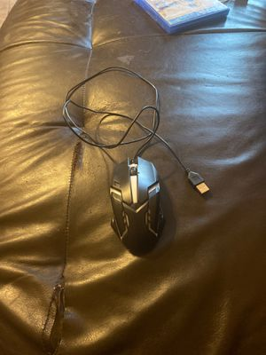 Light up mouse for Pc or computer for Sale in Oak Lawn, IL