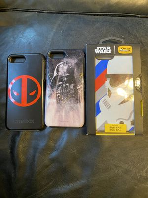 OTTERBOX iPhone 7/8 plus cases for Sale in Tacoma, WA