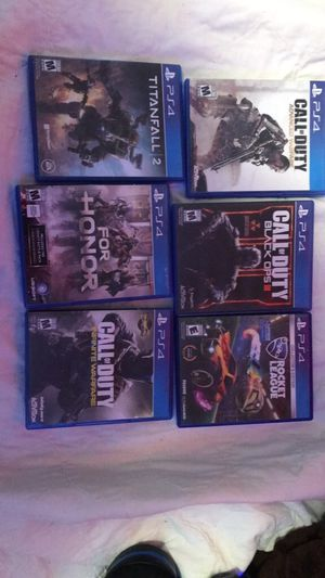 PS4 games for Sale in Lander, WY