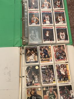Two Binders Of Basketball Cards Different Years for Sale in Bonney Lake,  WA