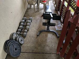 Weight Set for Sale in Vallejo, CA