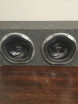 """12"""" Sony XPOLD Subs In Box With Amplifier Subwoofer Amp for Sale in Milwaukie,  OR"""