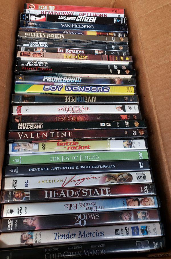 dvd movies 1 dollar ea