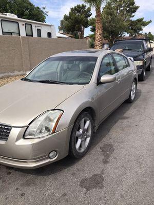 06 Nissan Maxima 3.5SE (bad transmission) for Sale in Las Vegas, NV