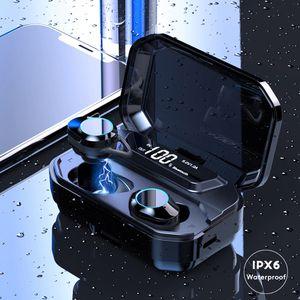 Bluetooth 5.0 Earphone TWS Wireless Headset Touch LED Stereo Earbuds Waterproof for Sale in Burbank, IL