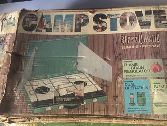Vintage Bernzomatic Camp Stove for Sale in Ontario,  CA