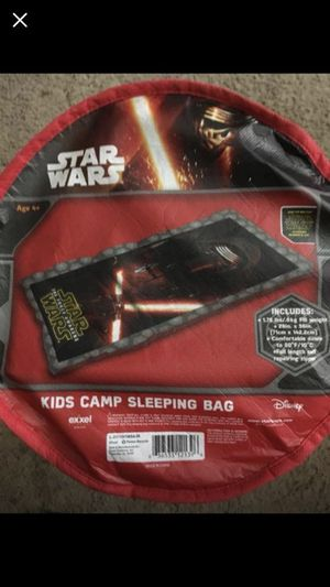 Star Wars Sleeping Bag for Sale in Lawton, MI
