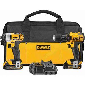 DEWALT DCK280C2R 20-Volt Max Li-Ion 20V Compact Drill & Impact Driver Combo Kit for Sale in Lynn, MA
