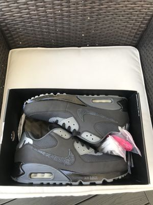 Undefeated Nike Air Max 90 men's shoes size 12 for Sale in Redlands, CA