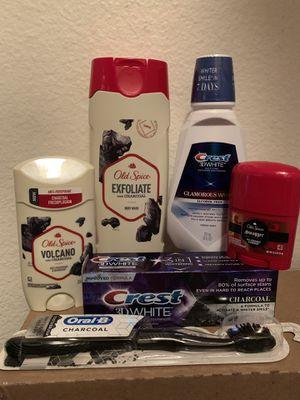 Men's hygiene/ exfoliate & charcoal for Sale in Fontana, CA