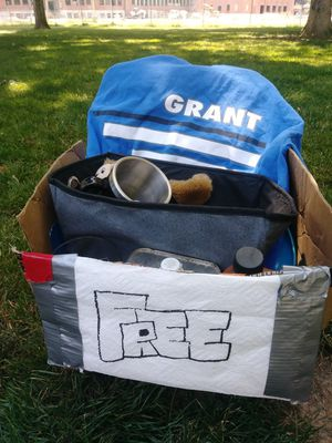 FREE box for Sale in Portland, OR