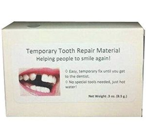 Temporary fake tooth repair kit temp dental fix missing for 30+ teeth! for Sale in San Diego, CA