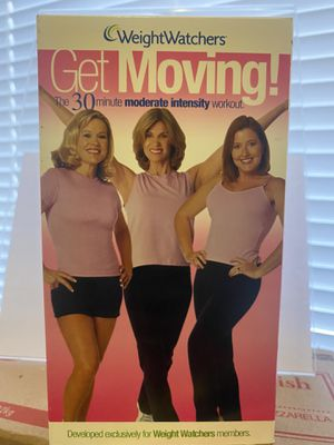 Weight Watchers Get Moving VHS 📼 Vintage for Sale in Albuquerque, NM