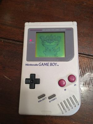 Original Gameboy with 1 game $55 Xtra Games $5-$20 each for Sale in Corpus Christi, TX