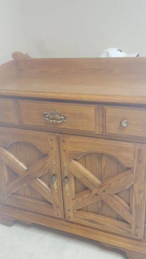 beautiful solid wood cabinet for Sale in Longview, TX