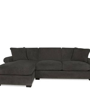 Comfy, Lightly Used Performance Fabric Couch/Sectional for Sale in Cambridge, MA