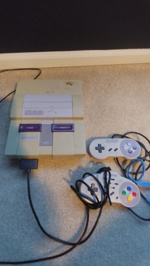 Original super Nintendo and 8 games. for Sale in Everett, WA