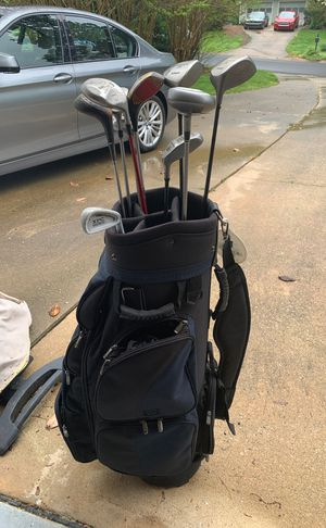 Old Golf Clubs & Bag for Sale in Raleigh, NC