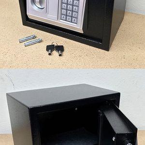 """Brand New $40 Digital 12""""x8""""x8"""" Security Safe Box Electric Keypad Lock Money Jewelry w/ Master Key for Sale in Whittier, CA"""