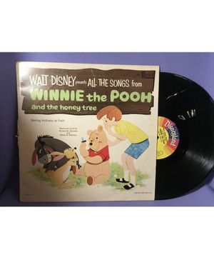 Walt Disney's All The Songs From Winnie The Pooh And The Honey Tree Vinyl Record 1964 for Sale in Glendale, AZ