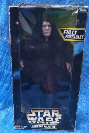 "Star Wars Emperor Palpatine 12"" Figure MIP MIB Kenner 1998 Action Collection for Sale in Pasadena, CA"