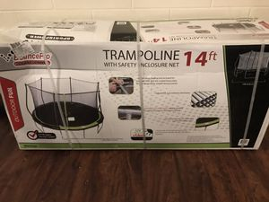 Trampoline with safety net for Sale in Winter Haven, FL