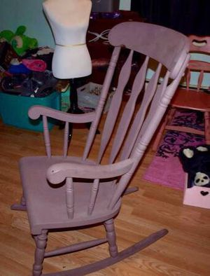 Antique painted rocking chair for Sale in Lynchburg, VA