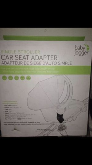 Baby Jogger Car Seat Adapter for Sale in Los Angeles, CA