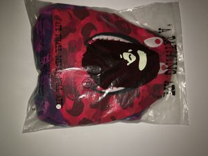 Brand new BAPE XXL sweater with bape bag not fake AUTHENTIC!!!!! for Sale in Fresno, CA