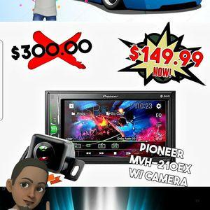 "Pioneer DMH-G225BT 2 DIN Multimedia AV Receiver 6.2"" Display & Bluetooth for Sale in Tijuana, MX"