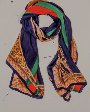 Gucci silk scarf original price is 750$ for Sale in The Bronx, NY
