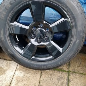 Chevy GMC Black OEM 20 Inch Wheels for Sale in Tacoma, WA