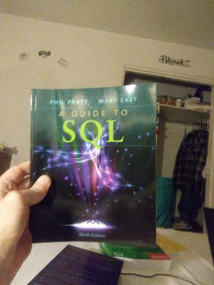 A Guide to SQL 9th Ed. for Sale in Anaheim, CA