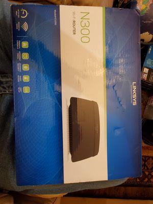 Linksys N300 model E1200. Wifi router for Sale in Dallas, TX