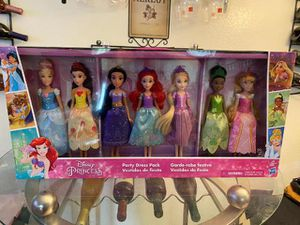 Disney princess party dress pack collection for Sale in Garden Grove, CA