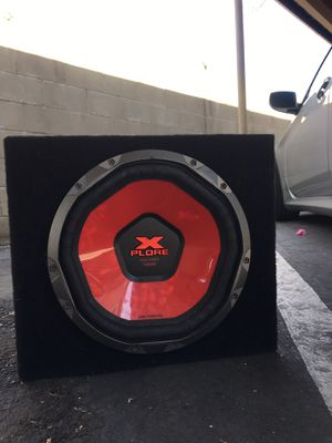 "Xplore 12"" Subwoofer for Sale in Escondido, CA"