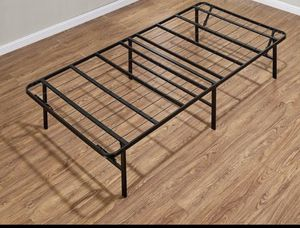 Twin bed frame with out mattress for Sale in Raleigh, NC