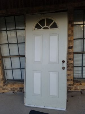 Front Door 36x80 with frame for Sale in Mesquite, TX