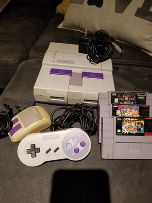 Super Nintendo bundle for Sale in Warwick, RI