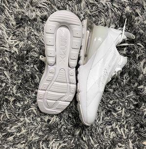 Nike Air max 270 triple white for Sale in Yorktown, VA